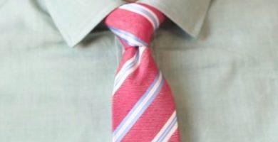 Nudo de corbata Medio Windsor