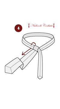 Cómo hacer nudo de corbata Pratt paso 4