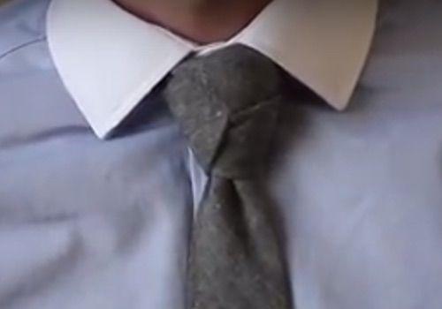 El nudo de corbata Trinity