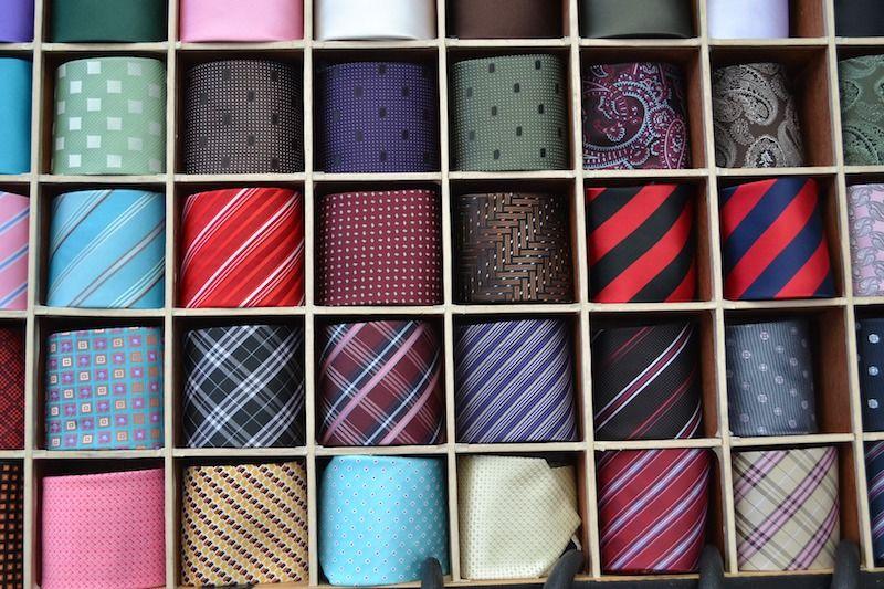 colores de las corbatas