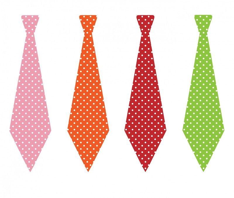 Las corbatas para la mujer